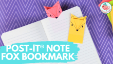 post it note fox bookmark tutorial, Jenny W. Chan - Origami Tree