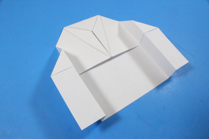 Space Cruiser Paper Airplane