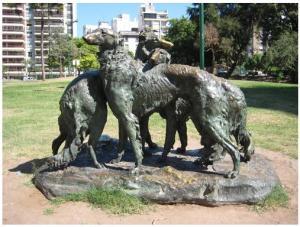 Estatua de Borzois