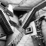 El laberinto del escritor (Escher)