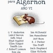 Cuentos para Algernon. Año VI