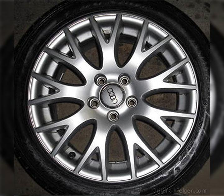Audi Vw Original Felge 8h0 601 025 H 9 Y Speichen