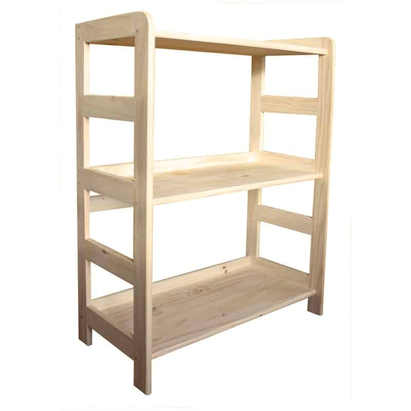 etagere samba 3 tablettes en pin massif