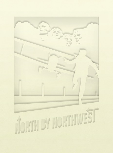 North by Northwest tunnel book - initial design mockup