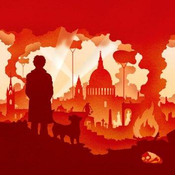 Detail of the artwork for Ever Dundas' book, Goblin