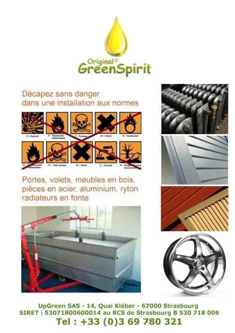 Décapant écologique du bois et du métal respectant les normes de décapage