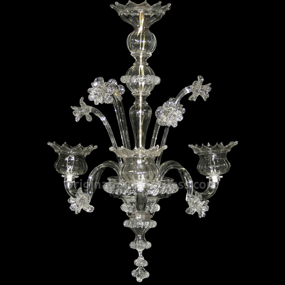 Chandelier Bellezza Floral Murano Glass