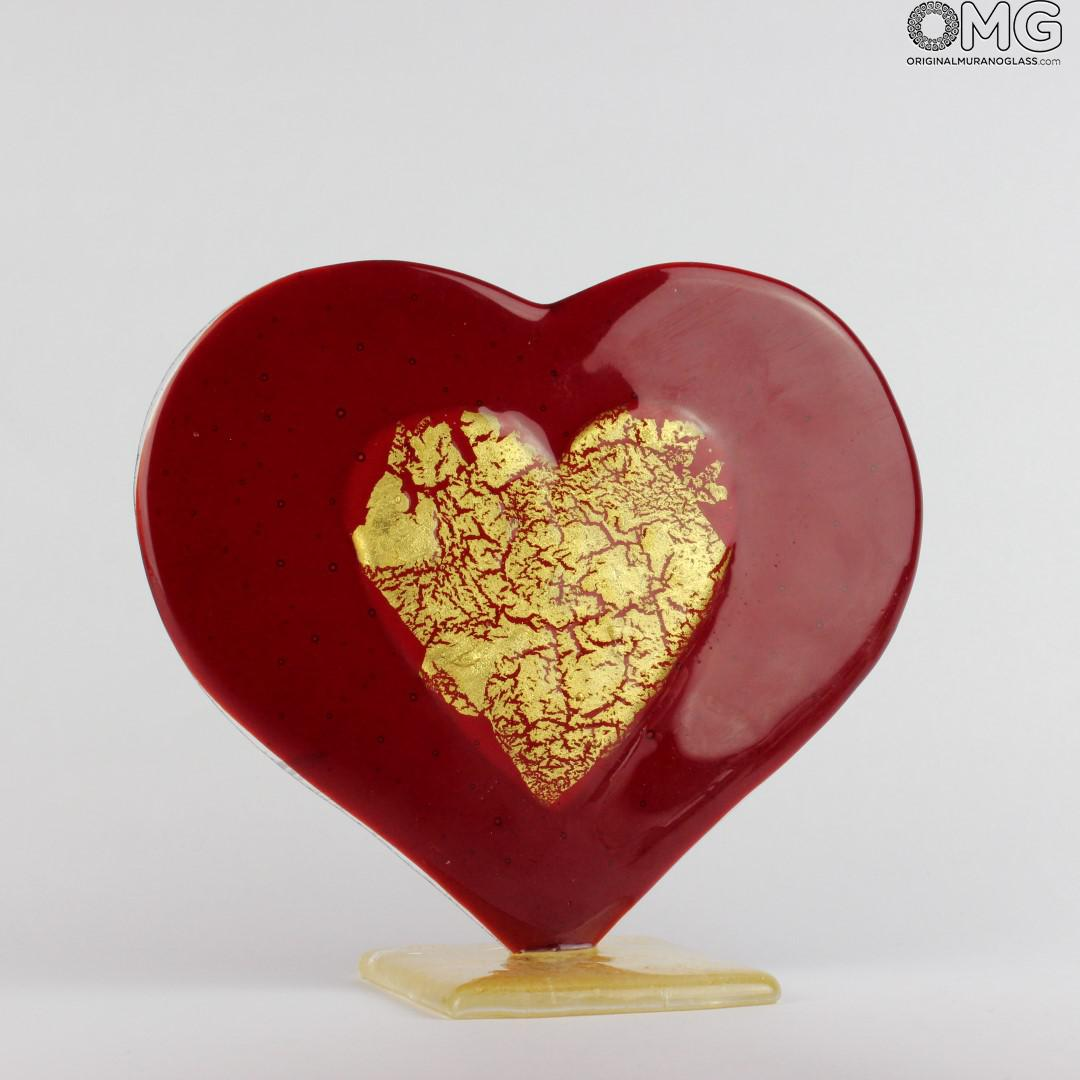 Sculptures And Statues Collection Heart Love Glass And
