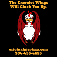 exorcist chicken hot wing shirt