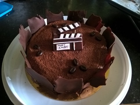 Fine birthday recipe for a film fan!