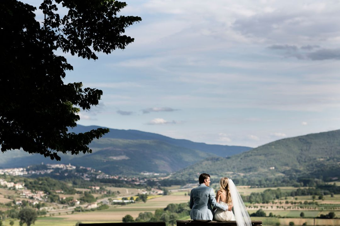 reception in the hills of Casentino