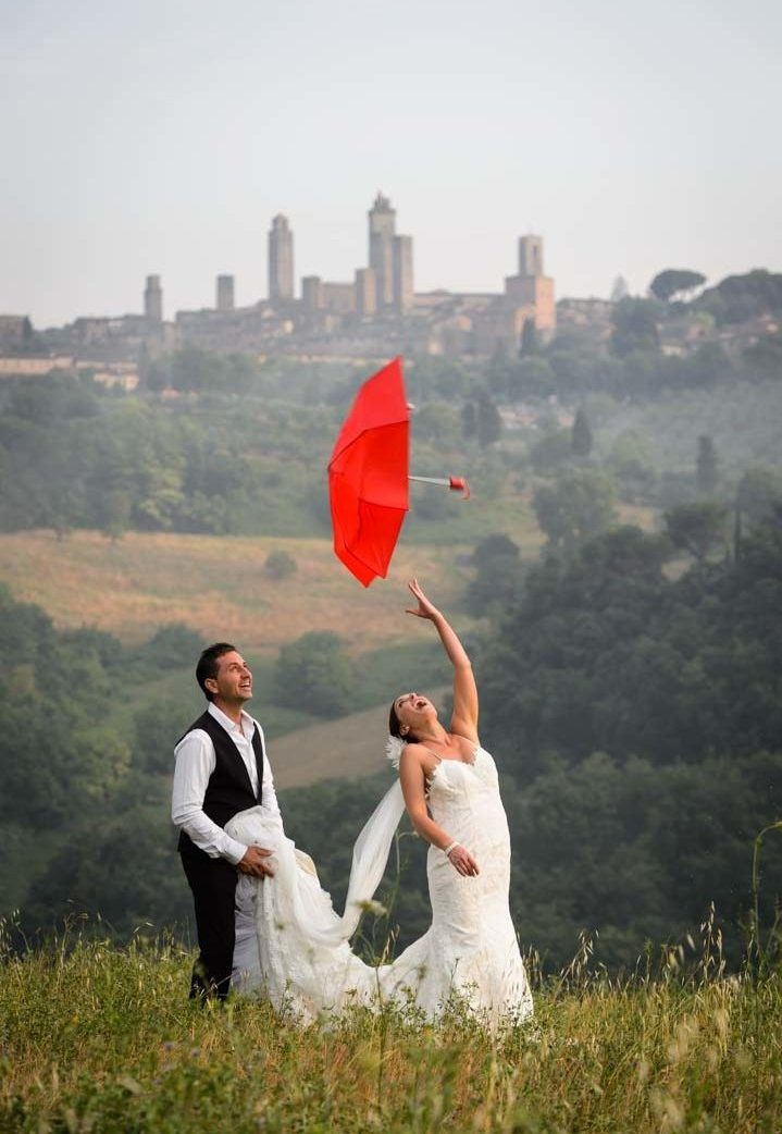 wedding for two in Tuscany