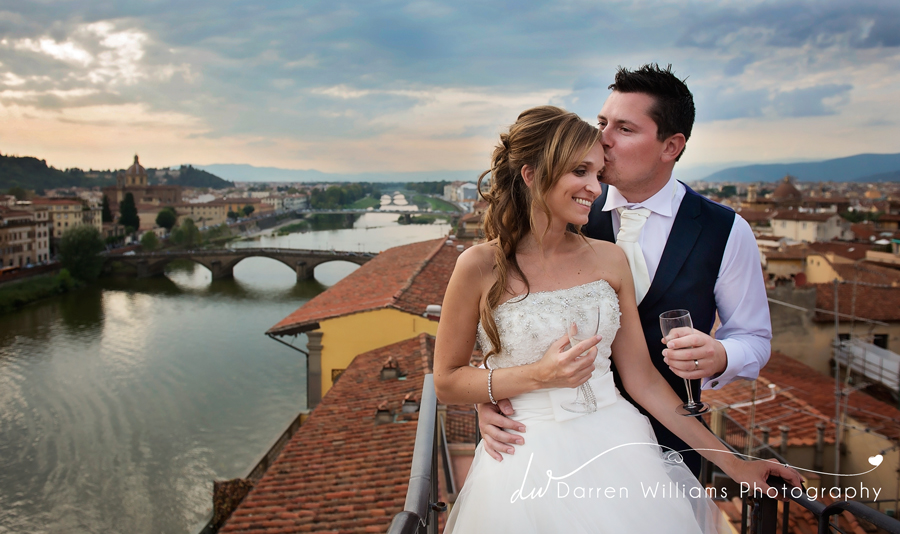 Tuscan wedding in Florence