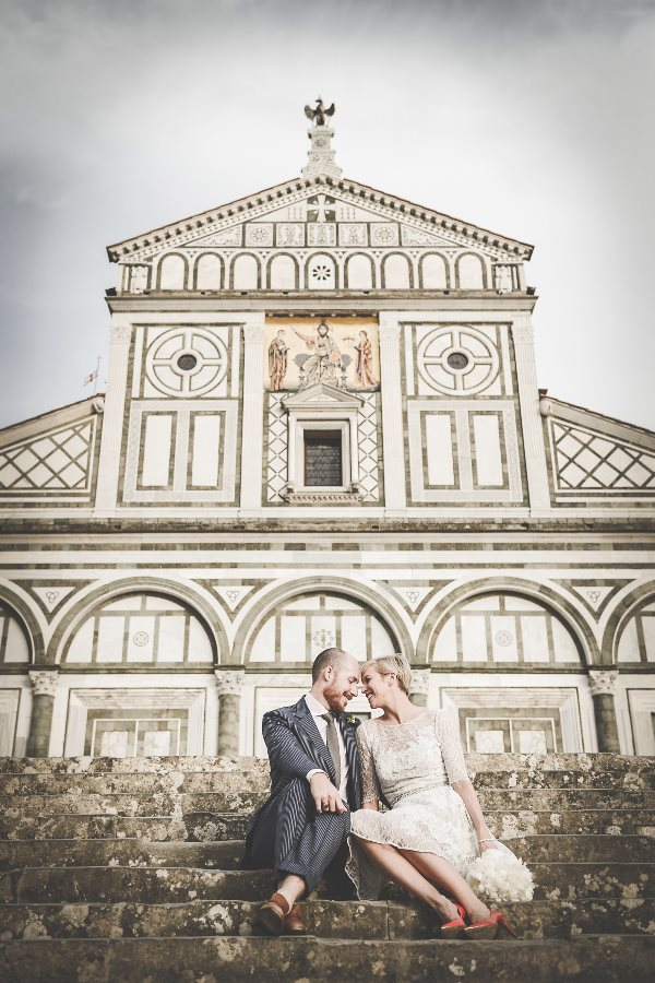 Brittany & John wedding in Florence