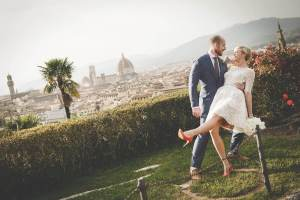 wedding for two in Florence