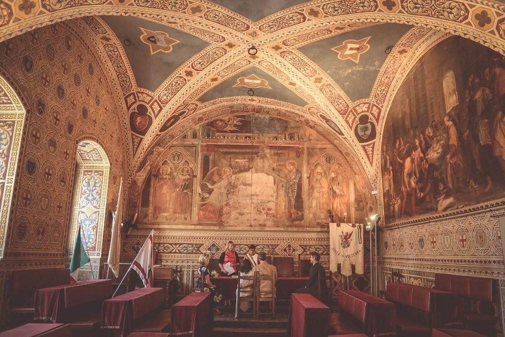 Canna & Neal wedding in Volterra