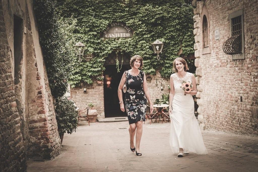 Hilary & Mark private cerimony in Tuscany
