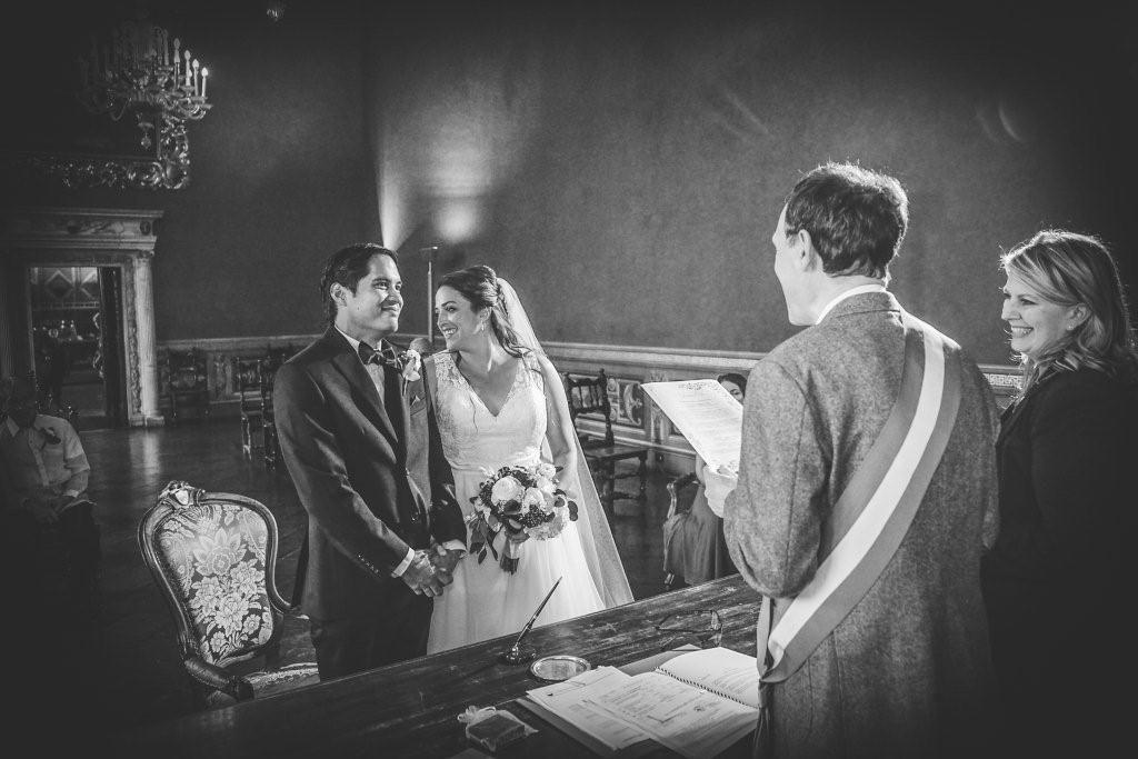 Tara & Alvin during their wedding in Siena
