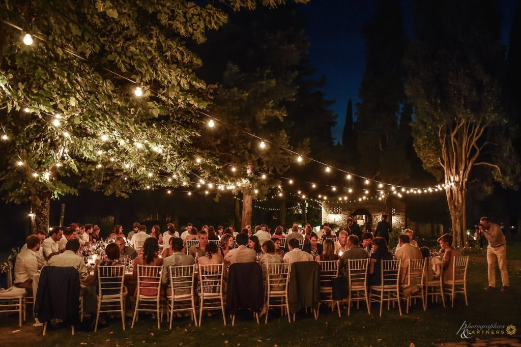 Al Fresco Wedding Dinner