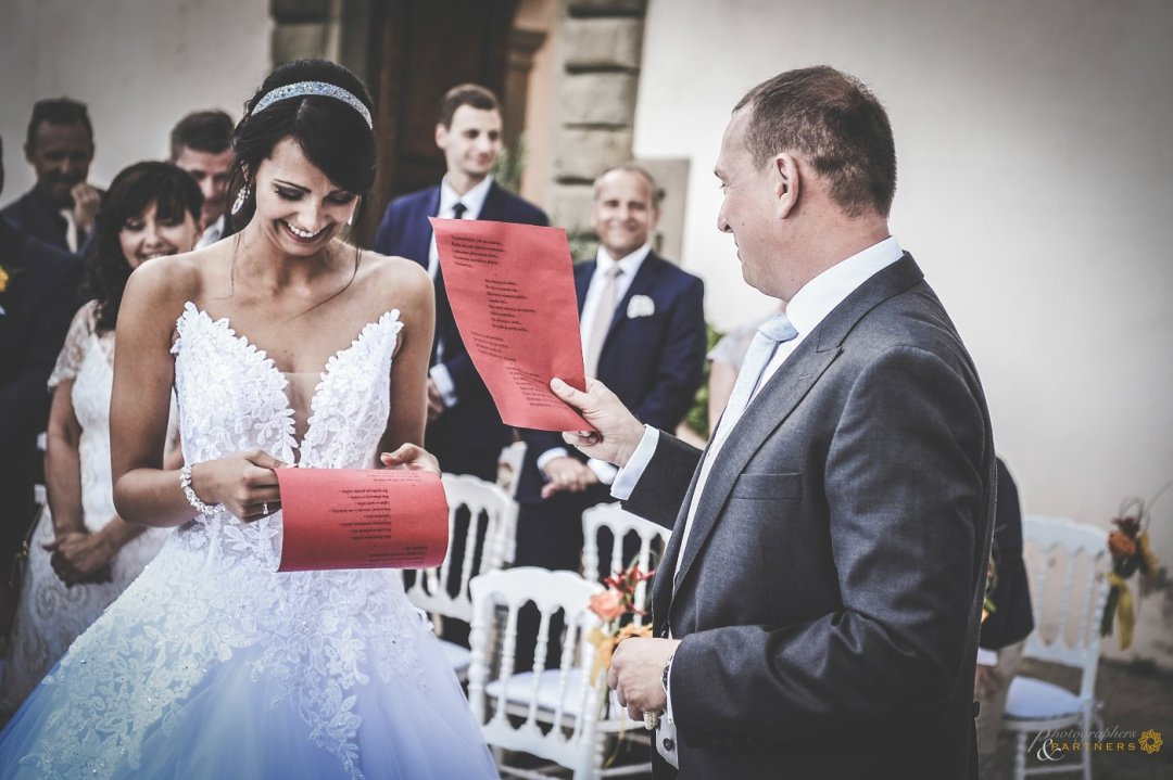 Tuscan Wedding Ceremony
