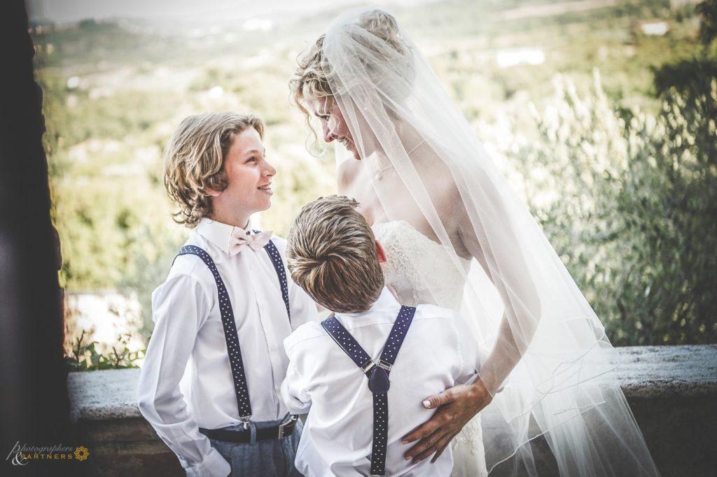 wedding in tuscan Hills