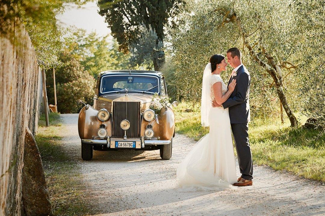 wedding tuscany cars