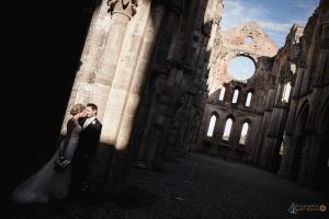 James & Jennifer wedding at San Galgano Abbey