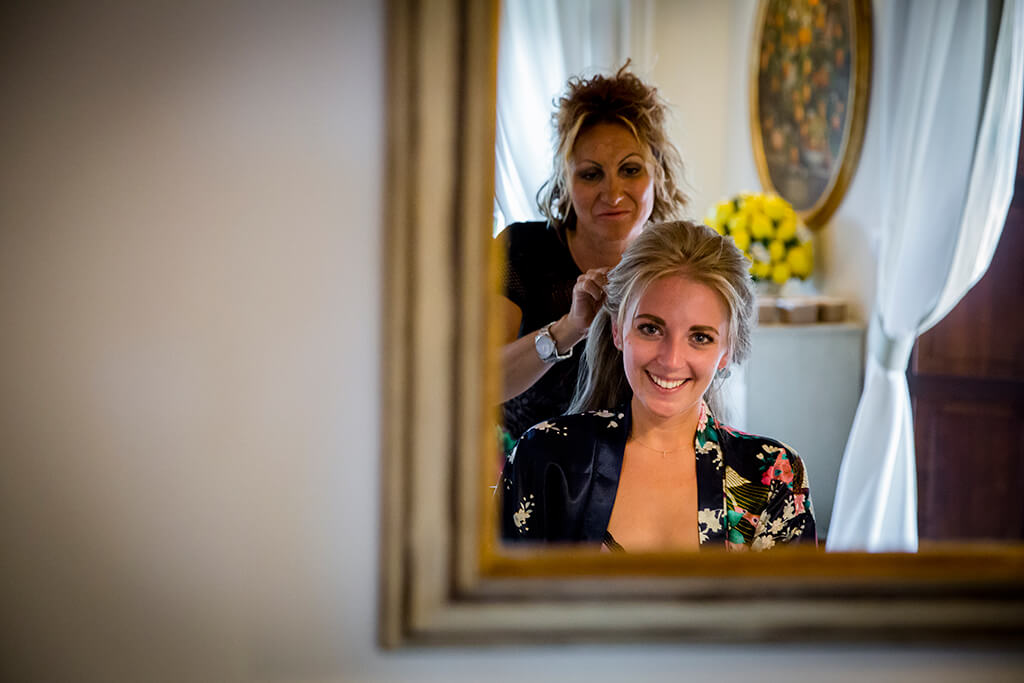 wedding makeup tuscany