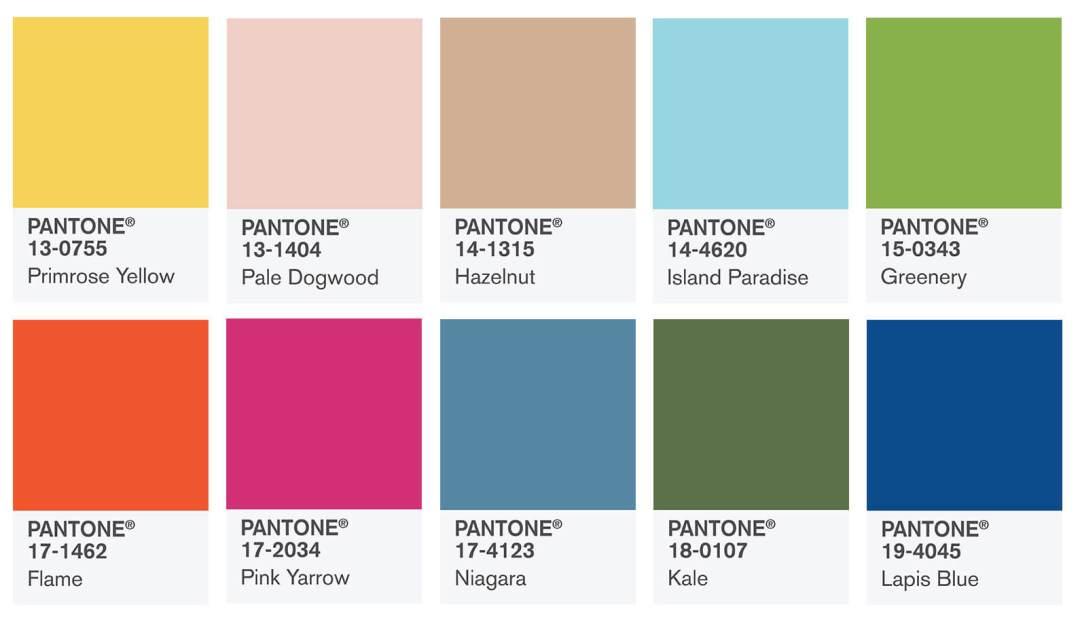 pantone color wedding trends