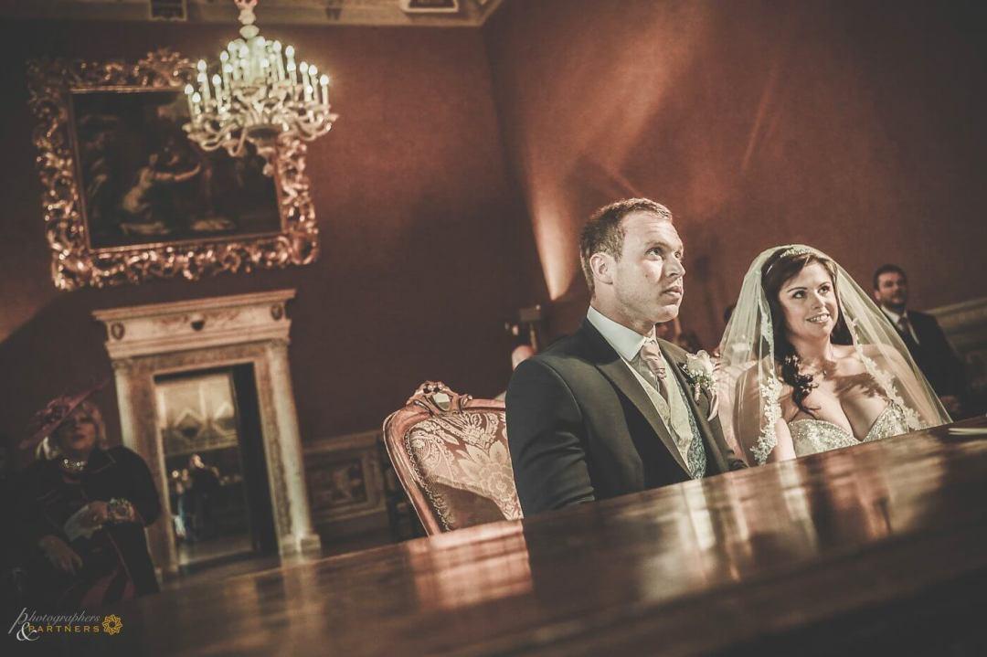 Sheree & Domenic civil ceremony at Siena