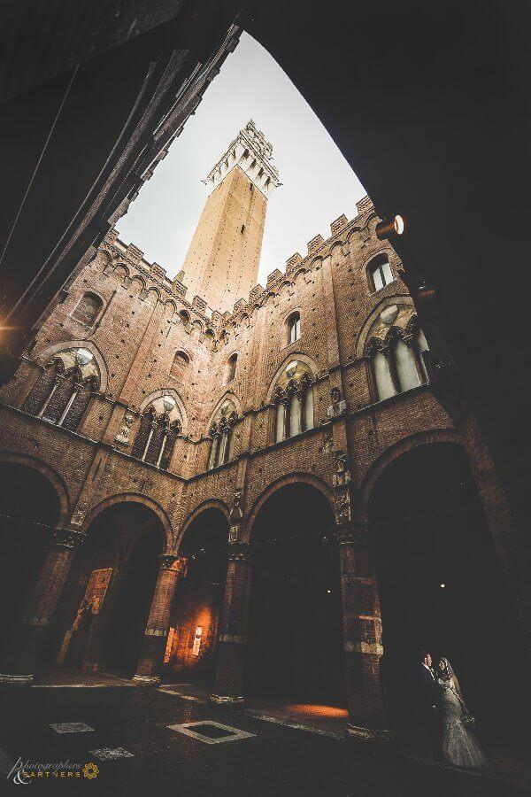 wedding Siena Torre del Mangia