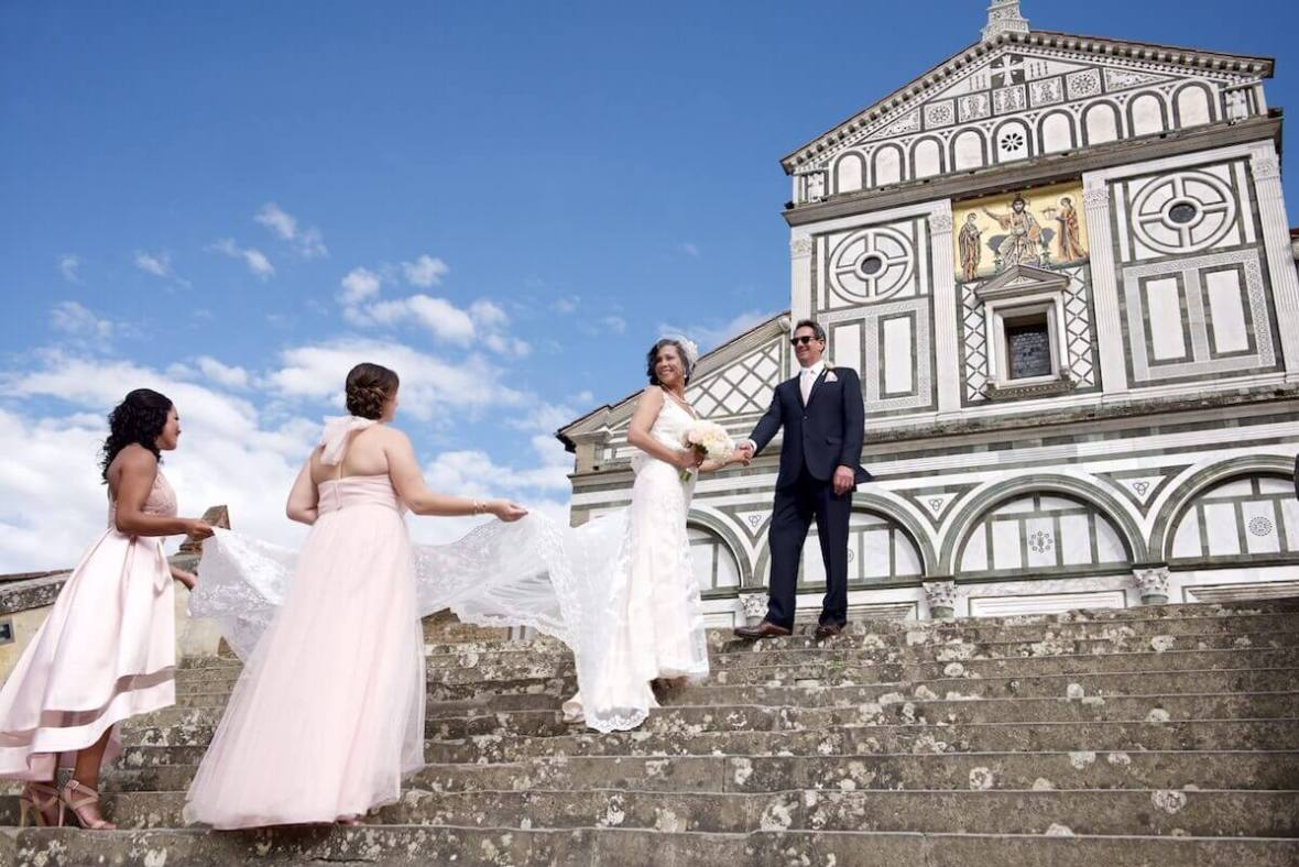 Veronica & Paul wedding in San Miniato