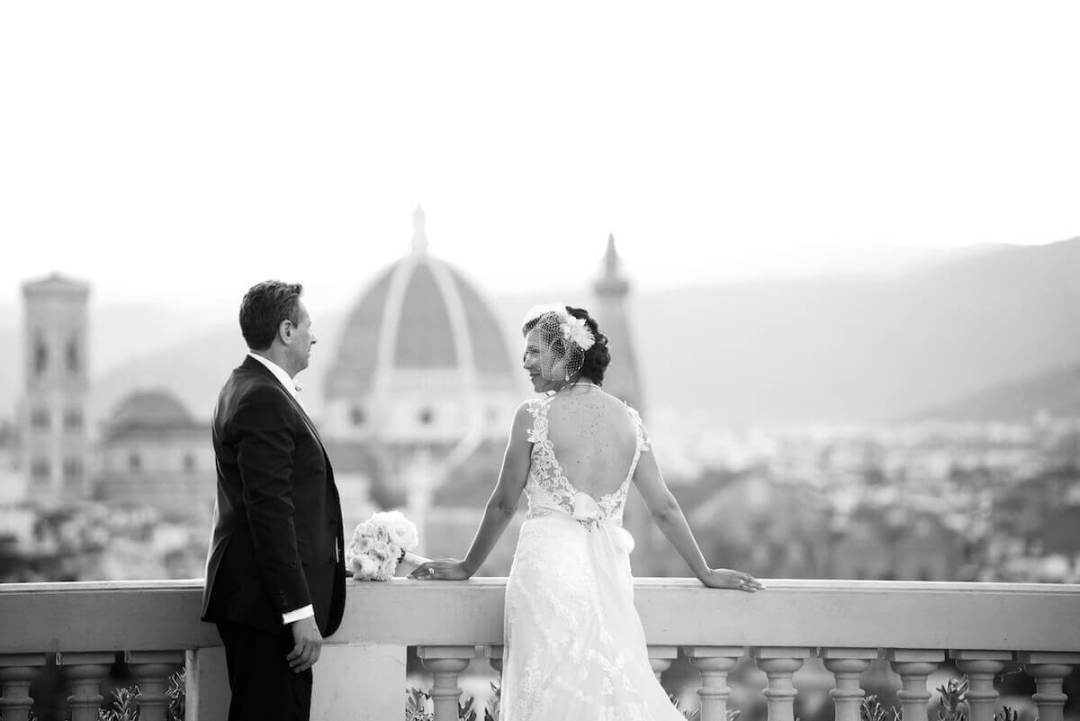 intimate ceremony Florence