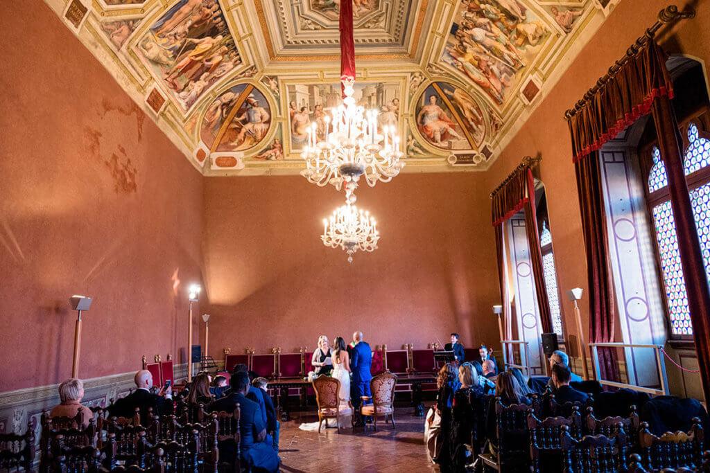 Civil Wedding in Siena