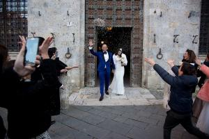 wedding in historic palace Italy