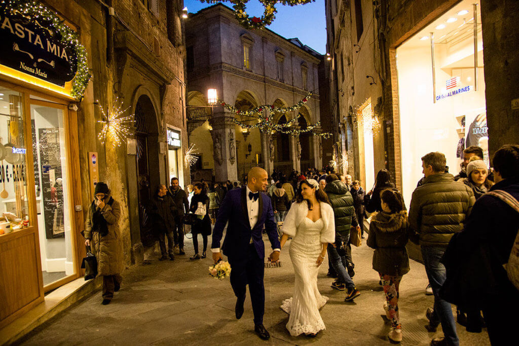 Civil Ceremony in Siena