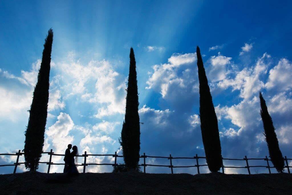 Kate & Alex wedding in Tuscany