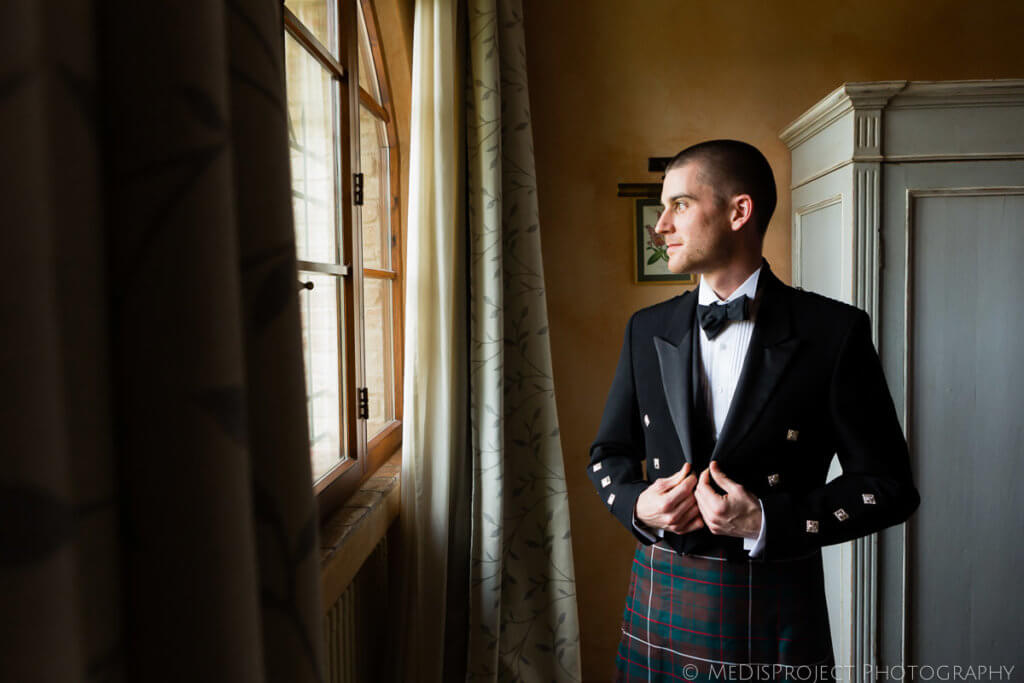 wear kilt for wedding