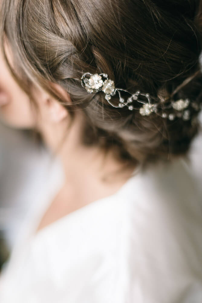 Romantic Bridal Headband