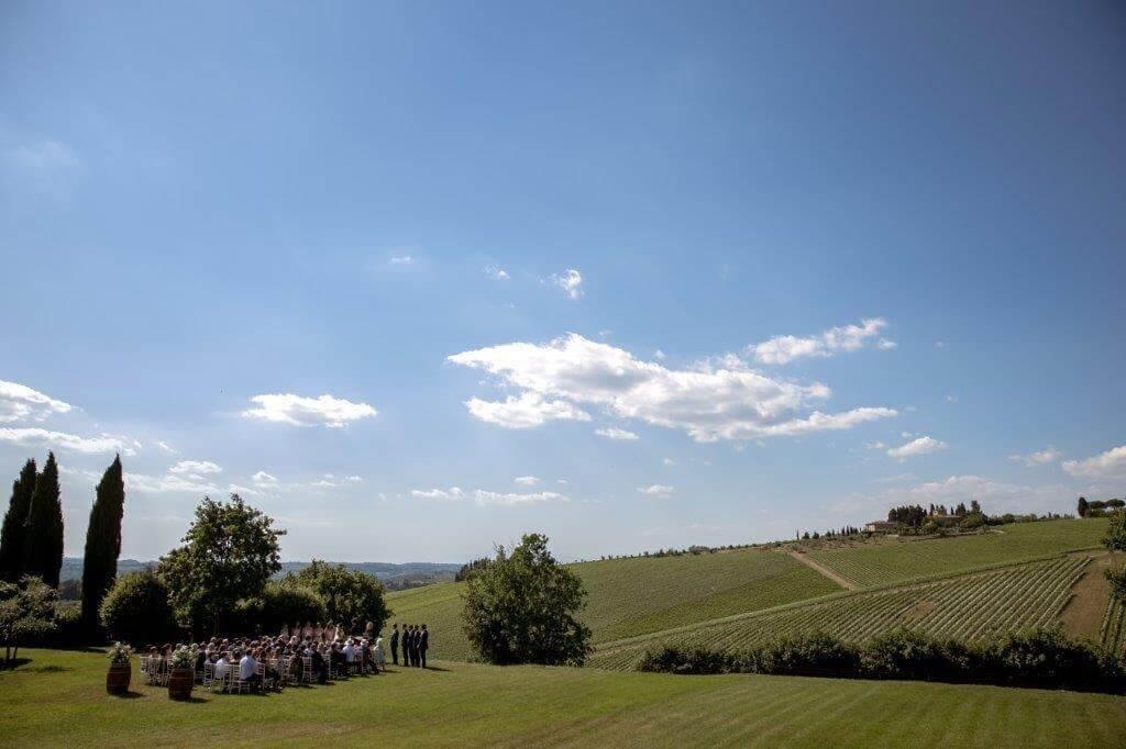 Caroline & Richard wedding in a tuscan winery