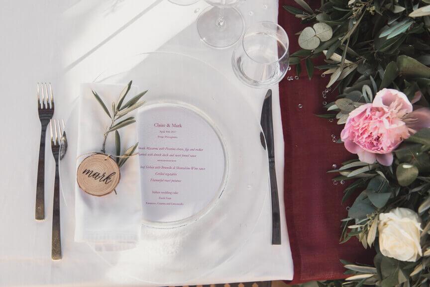Luxury reception in the heart of Chianti
