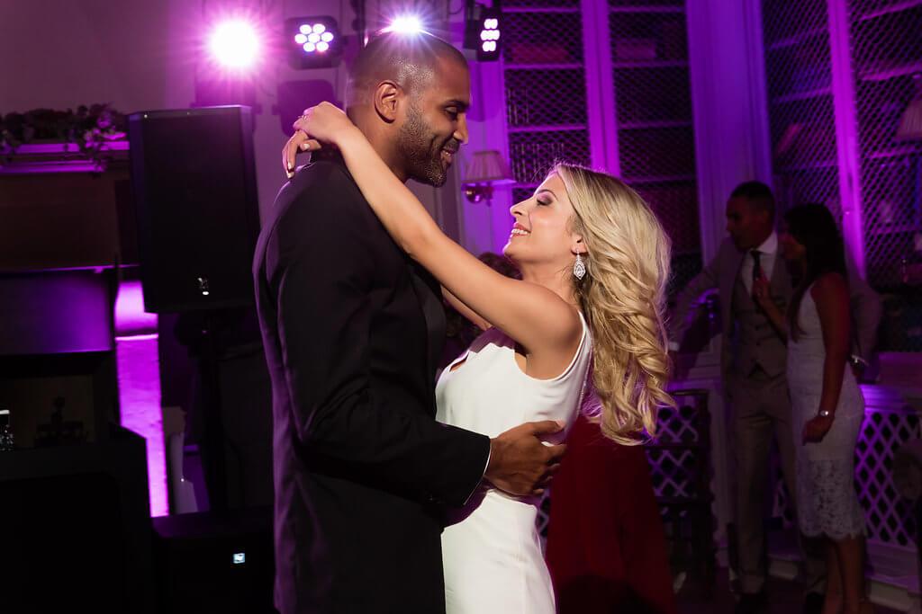Kristina & Jerome have a romantic first dance