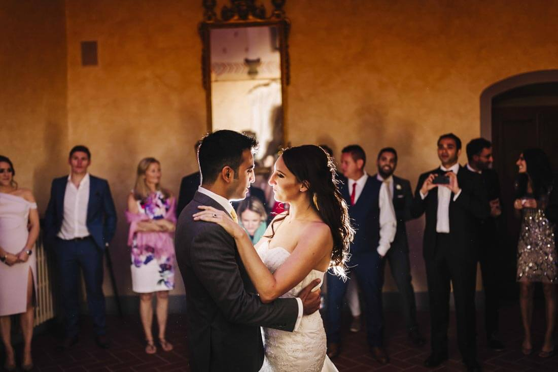 Jane & Aimun have a romantic first dance