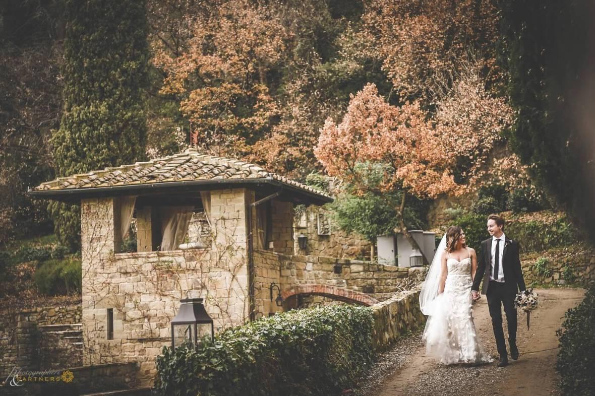 winter elopement wedding