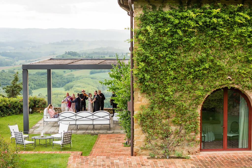 private villa for wedding in Tuscany