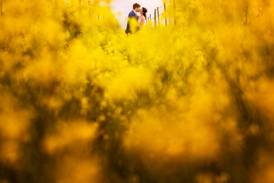 wedding in spring in Tuscany