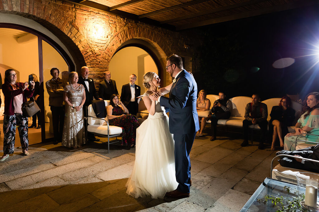 intimate small wedding in Italy