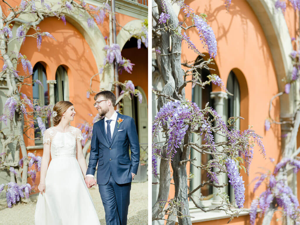 intimate wedding in April in Florence