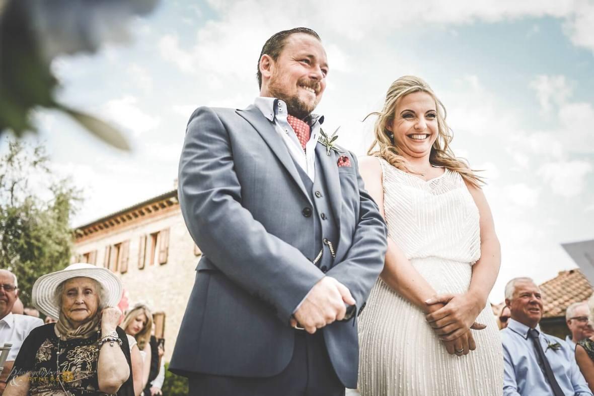 legal ceremony in San Gimignano
