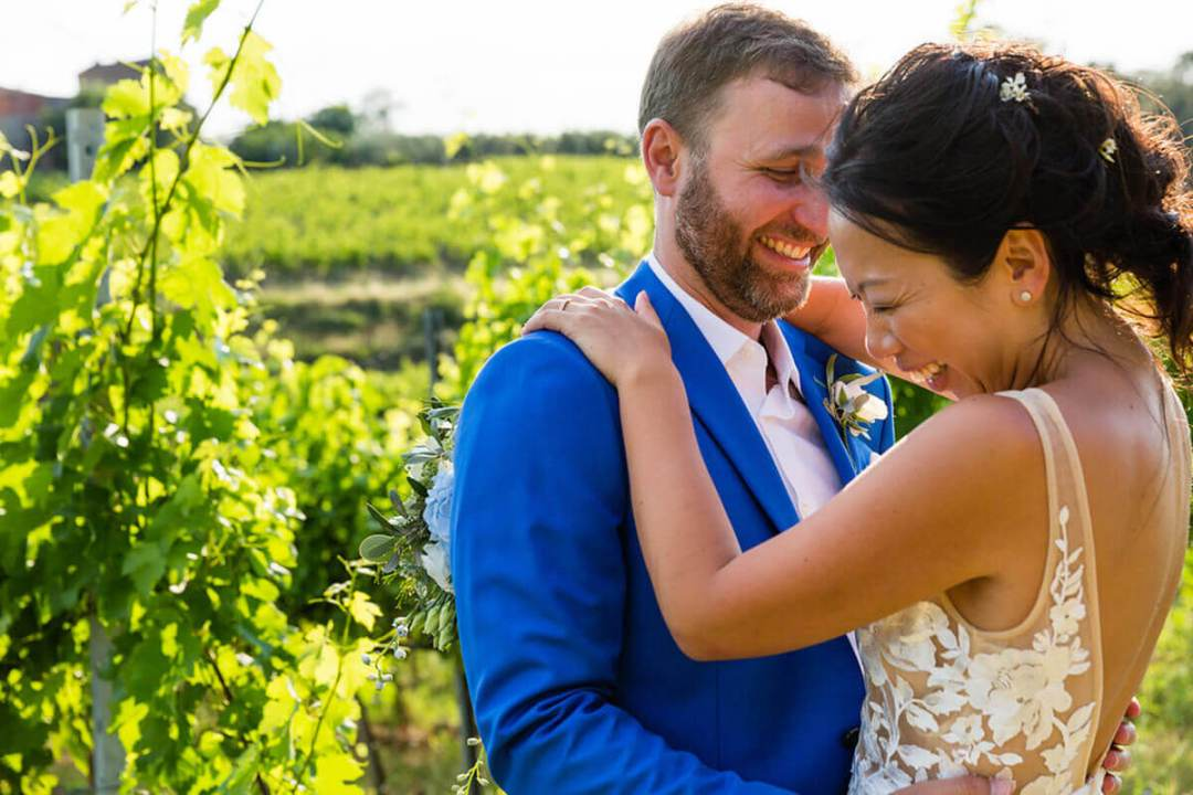 marriage in the vineyards